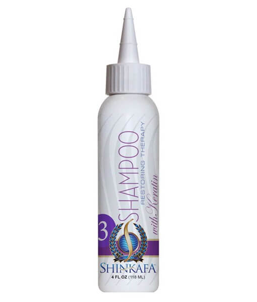 Shinkafa Keratin Hair Relaxer Kit: Step 3 - SHAMPOO