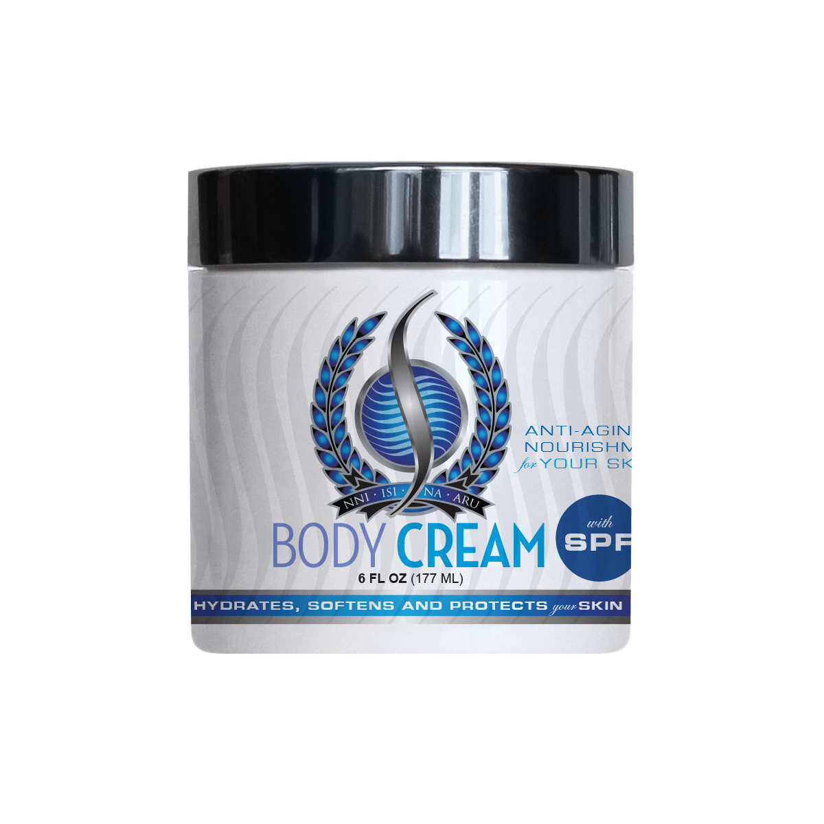 BODY CREAM with SPF-6oz Jar