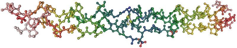 Collagen Mollecules: Triple Helix