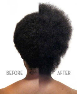 Shinkafa Keratin Hair Relaxer 4-Step Kit: Before & After