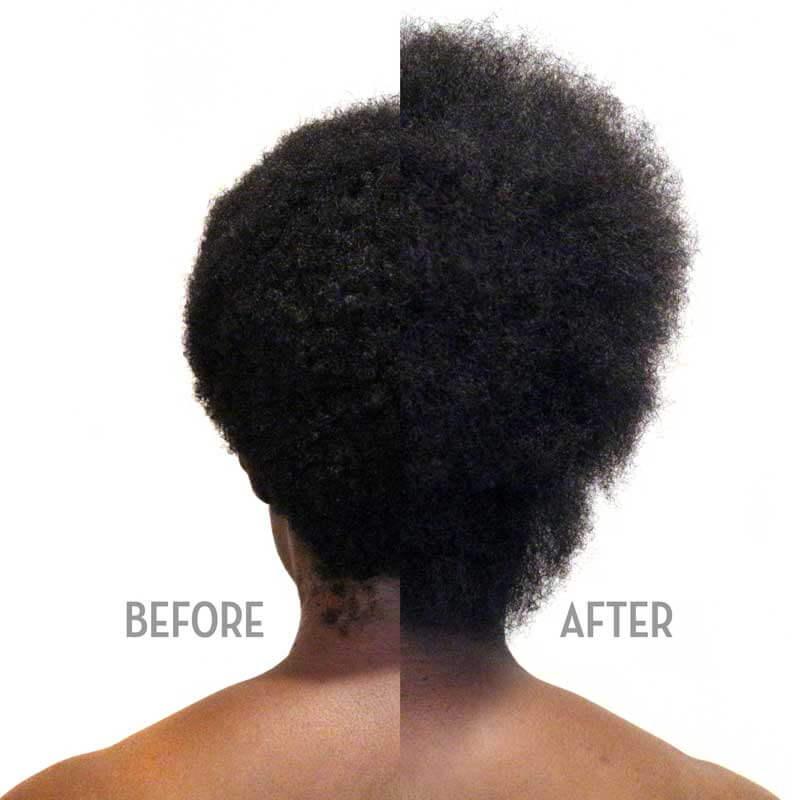 Shinkafa Keratin Hair Relaxer 4-Step Kit: Before & After