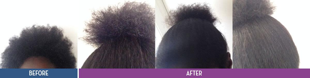 Shinkafa Hair Relaxer Kit-Before & After-03