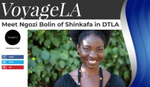 Shinkafa on Voyage LA