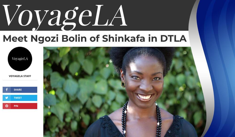 Shinkafa on Voyage LA