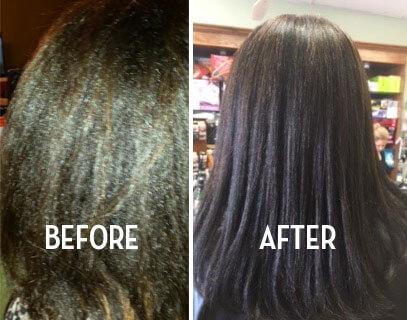 Shinkafa Hair Relaxer Kit-Before & After-02