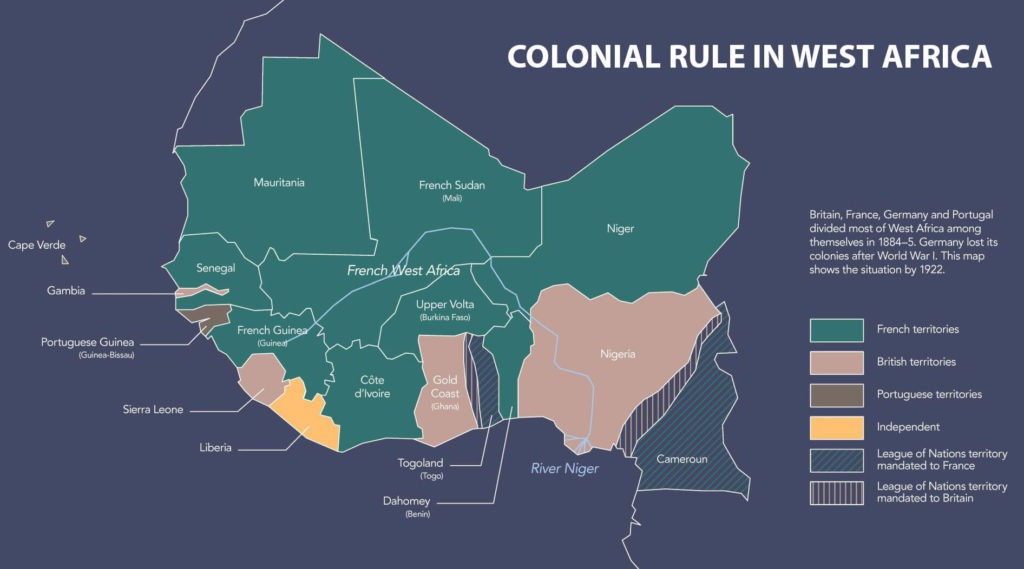 West Africa Colonial Rule