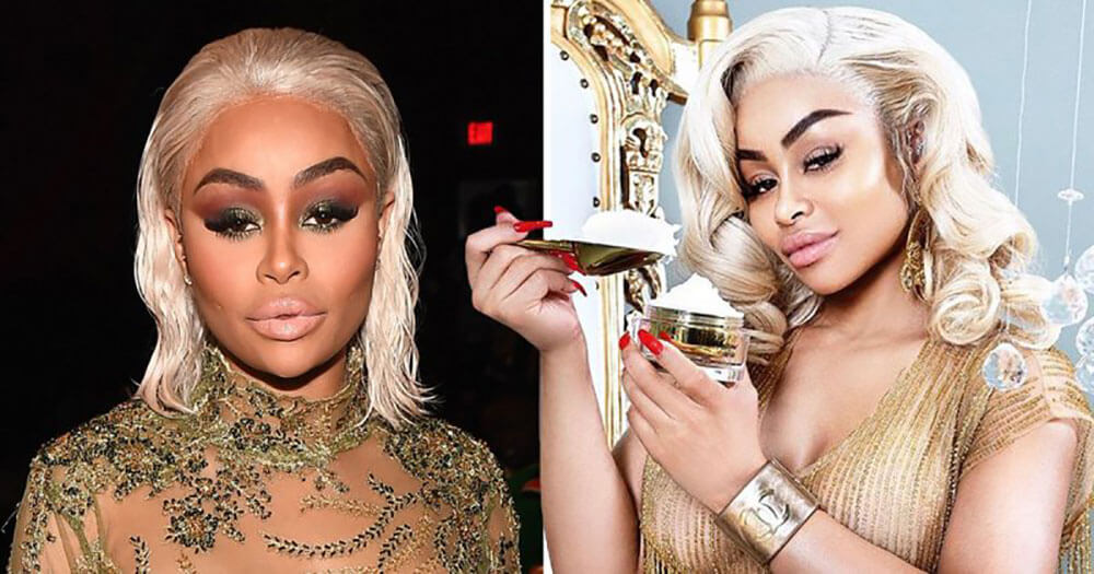 blac chyna bleaching cream controversy